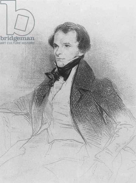 Prosper Mérimée, 1829 (litho)