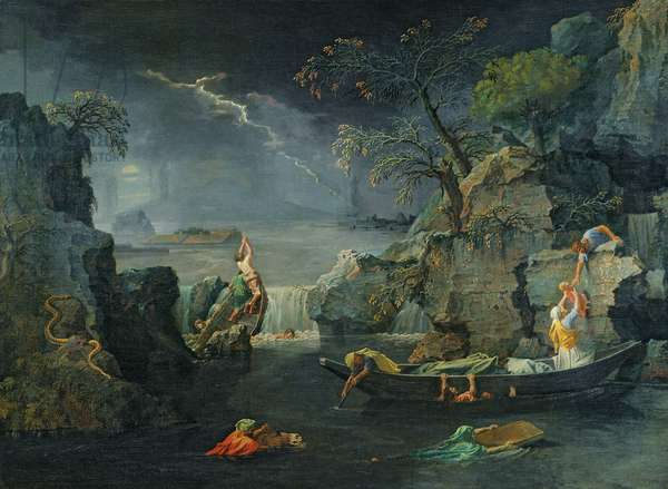 Winter, or The Flood, 1660-64 (oil on canvas)
