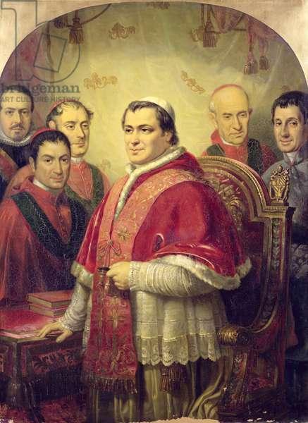 Pope Pius IX (1792-1878) 1847 (oil on canvas)