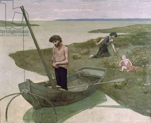 The Poor Fisherman, 1881 (oil on canvas)