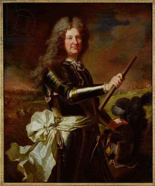 Portrait of Charles-Auguste de Matignon, Comte de Gace, Marechal de France (1647-1724) 1691 (oil on canvas)