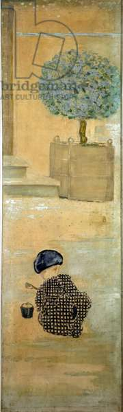 The Child with a Sandcastle, or The Child with a Bucket, 1894 (oil on canvas)