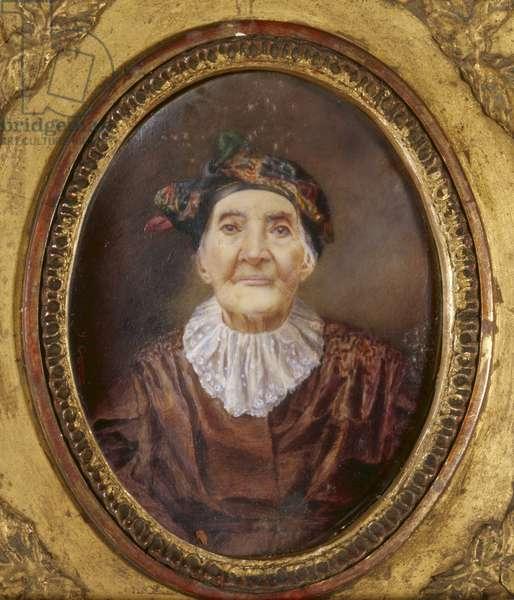 Portrait of Mrs Vacaresco (oil on canvas)