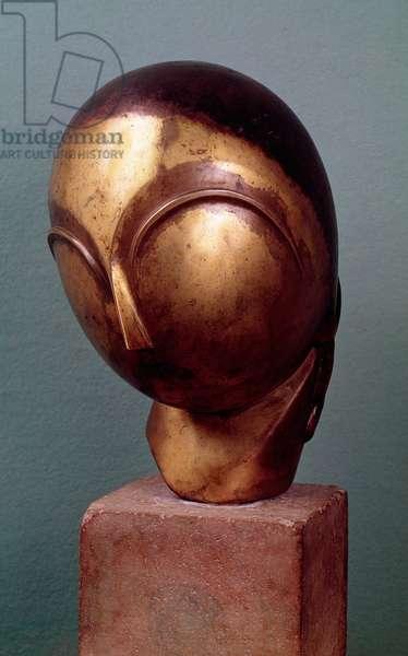 Mademoiselle Pogani, c.1920 (bronze)