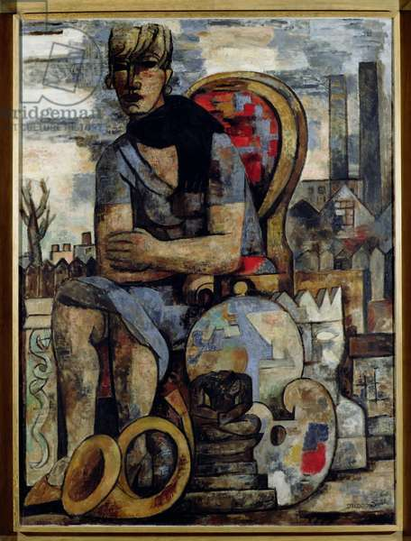 The Secondhand Dealer, 1927 (oil on canvas)