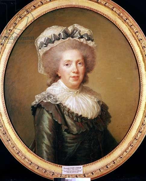 Portrait of Adelaide de France (1732-1800) 1791 (oil on canvas)