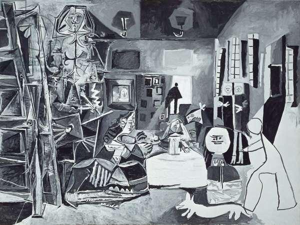 Las Meninas, No.1, 1957 (oil on canvas)