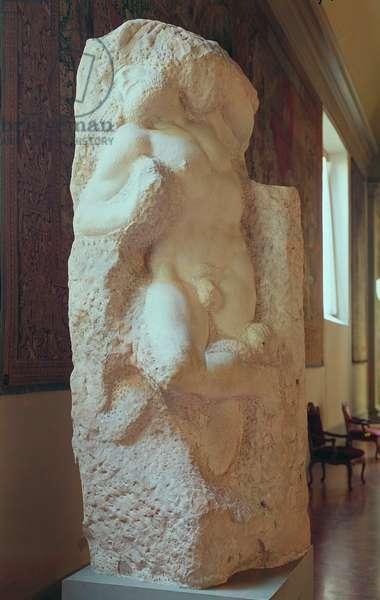 The Awakening Slave, 1519-20 (marble)