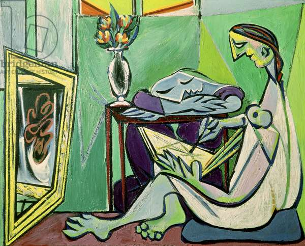 The Muse, 1935 (oil on canvas)