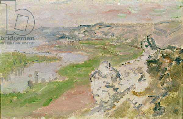 Le Cirque des Céteaux, the Seine viewed from the heights of Chantemerle, 1881 (oil on canvas)