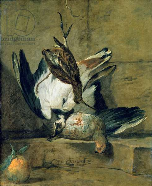 Still Life, 1732 (oil on canvas)
