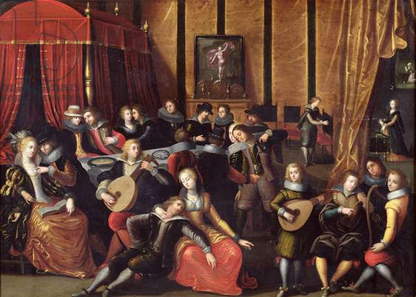 The Spanish Concert or, The Gallant Rest (oil on panel)