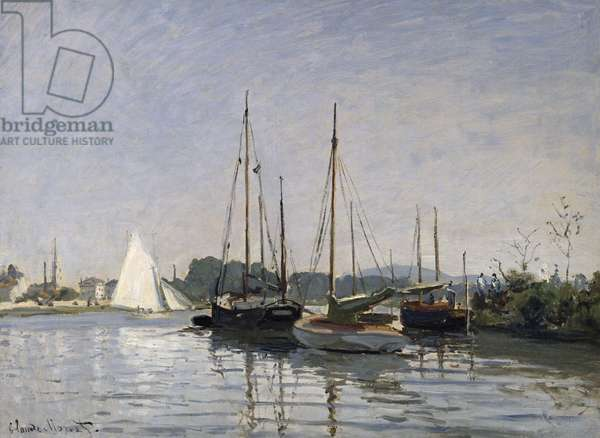 Pleasure Boats, Argenteuil, c.1872-3 (oil on canvas)