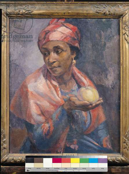 Portrait of a Woman from Martinique (oil on canvas)