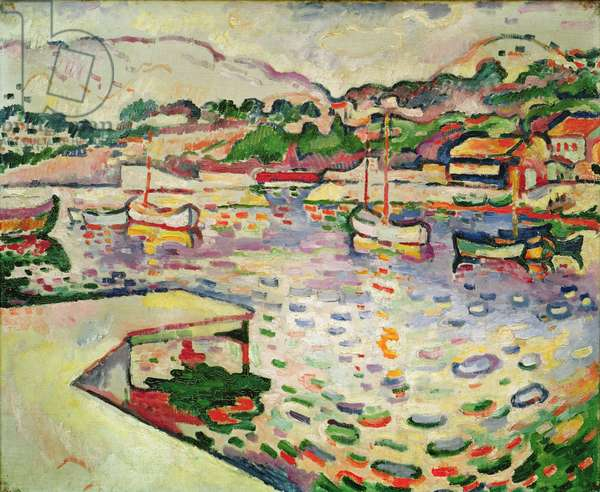 The Port of Estaque, 1906-07 (oil on canvas)