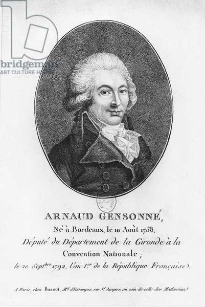 Arnaud Gensonné (engraving)