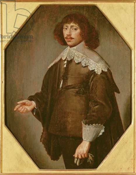 Portrait of a Man, c.1640 (oil on panel)