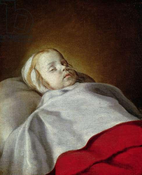 Portrait of a Dead Child, c.1650 (oil on canvas)