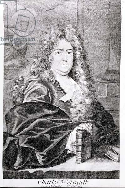 Portrait of Charles Perrault (engraving)