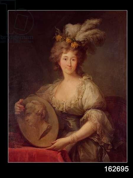 Portrait of Anne Biron (1750-1850) Princess of Courland, c.1795 (oil on canvas)