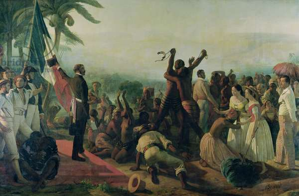 Proclamation of the Abolition of Slavery in the French Colonies, 23rd April 1848, 1849 (oil on canvas)