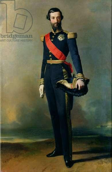 Francois-Ferdinand-Philippe d'Orleans (1818-1900) Prince de Joinville, 1843 (oil on canvas)