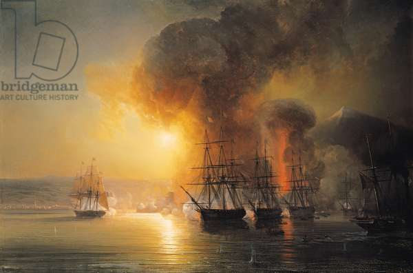 Capture of the Fort of Saint-Jean-d'Ulloa on 23rd November 1838, 1839 (oil on canvas)