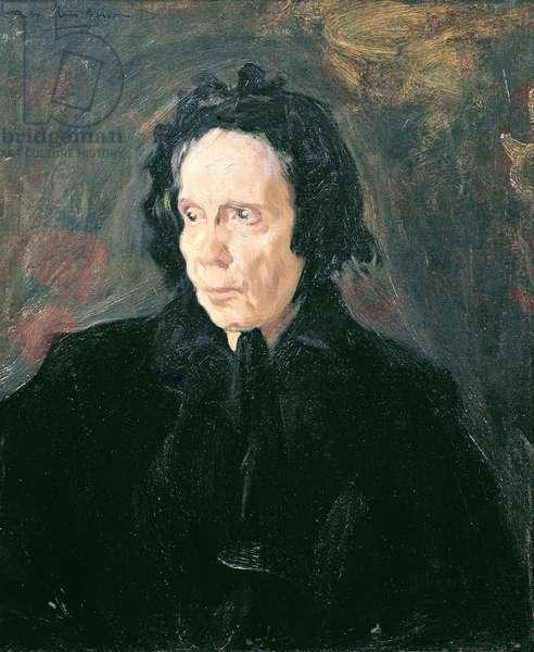 Portrait of Tante Pepa, 1896 (oil on canvas)