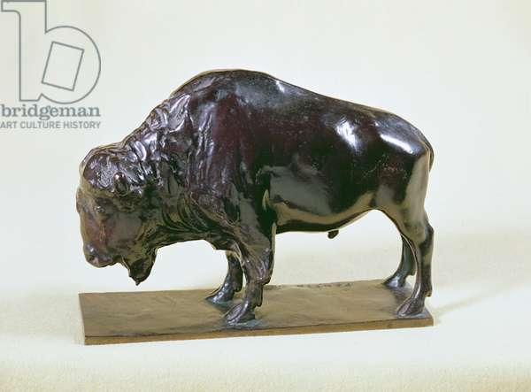 Bison, 1907 (bronze)