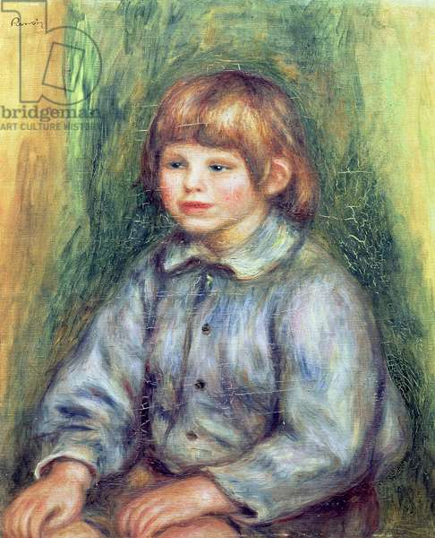 Seated Portrait of Claude Renoir (1901-81) 1905-08 (oil on canvas)
