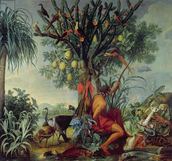 The Indian Hunter, 1740 (oil on canvas)