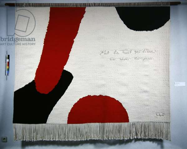 Night and Day, 1978 (wool)