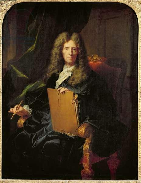 Portrait of Pierre Mignard (1610-95) c.1690 (oil on canvas)