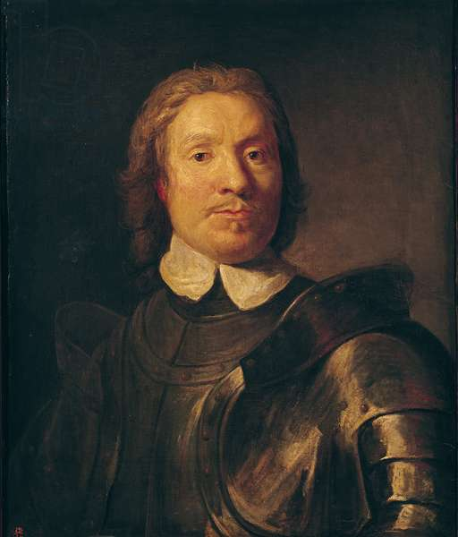 Oliver Cromwell (1599-1658) (oil on canvas)