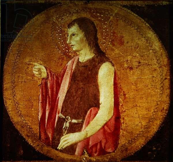 St. John (oil on panel)