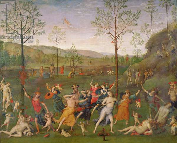 The Battle of Love and Chastity, after 1503 (oil on canvas)