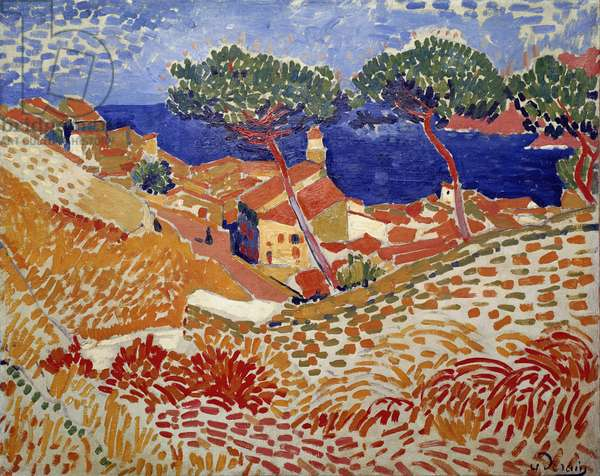 Collioure, the Village and the Sea, 1904-05 (oil on canvas)