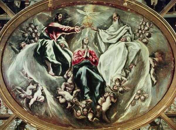 Coronation of the Virgin, 1597-1603 (oil on canvas)