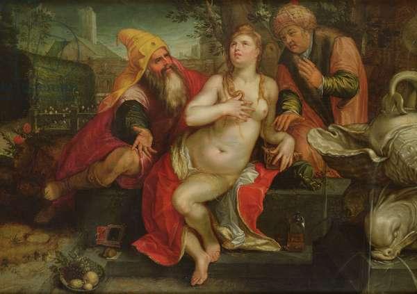 Susanna and the Elders, 1607 (oil on canvas)