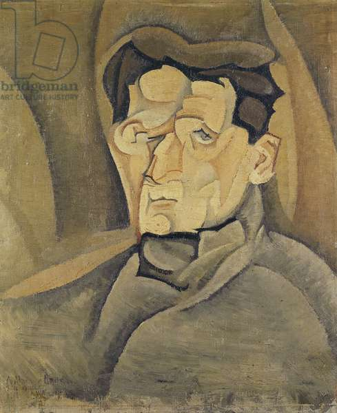 Portrait of Maurice Raynal (1884-1954) 1911 (oil on canvas)