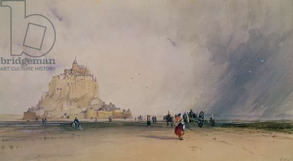 Mont Saint Michel (w/c)