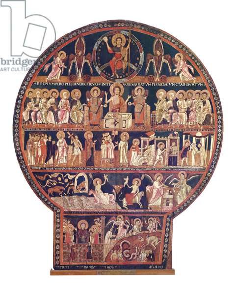 Last Judgement, second half of the 12th century (tempera on wood)