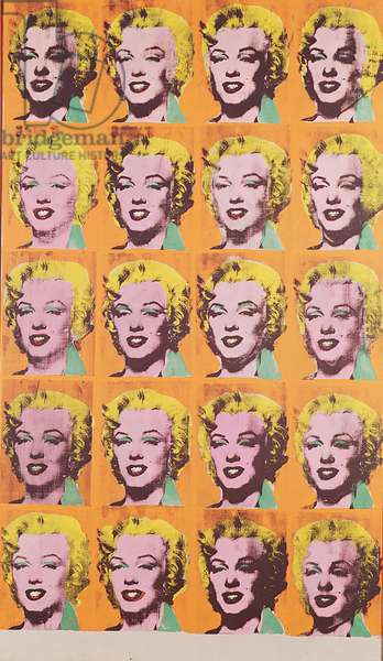 Twenty Marilyns, 1962 (silk screen)