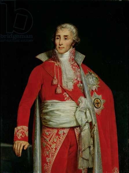 Portrait of Joseph Fouche (1759-1820) Duke of Otranto (oil on canvas)