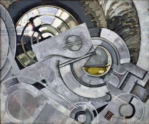 The Steel Drinks, no.2, c.1927-29 (oil on canvas)