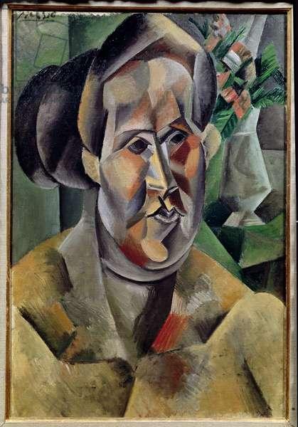 Portrait of Fernande Olivier, 1909 (oil on canvas)