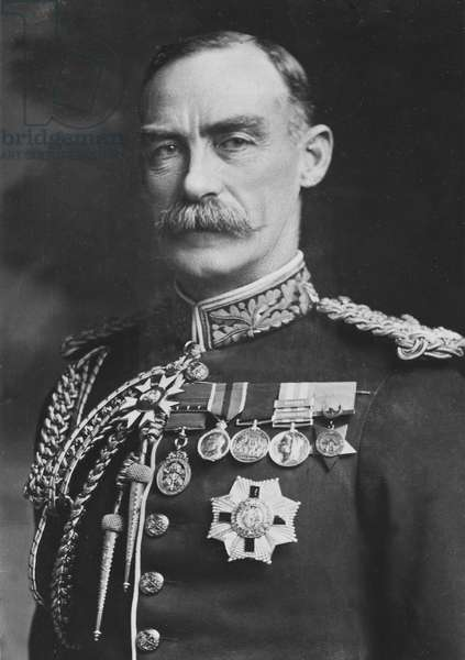 Portrait of Sir Percy Lake (b/w photo)