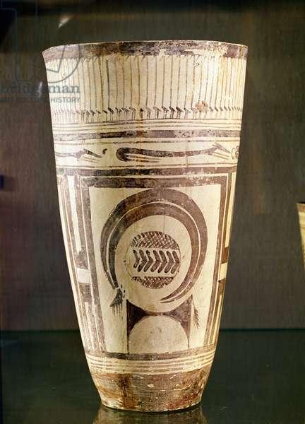 Vase, Style I, from Susa, Iran, 5000-4000 BC (ceramic)