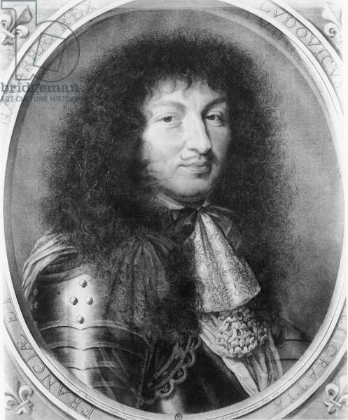 Louis XIV, 1676 (engraving)