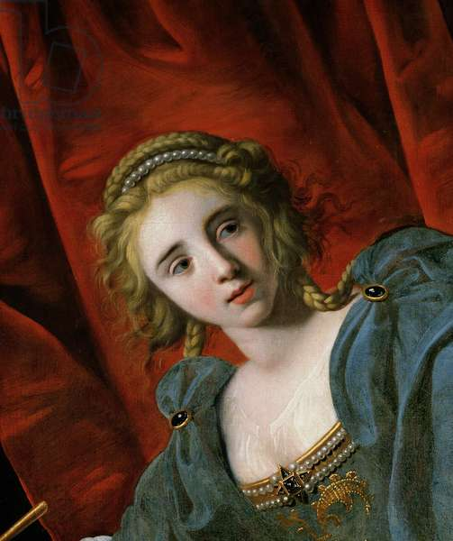 Judith (oil on canvas) (detail of 157968)